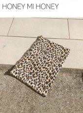 Honey mi Honey (ハニーミーハニー)<br>leopard poachbag  19春夏予約【19S-TA-18】クラッチバッグ19ssfs