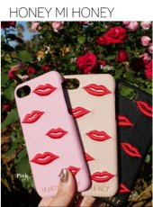 Honey mi Honey (ハニーミーハニー)<br>lip iPhonecase  19春夏【19S-GB-25】iPhone・iPadケース iphone7.8対応