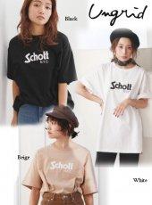 Ungrid(アングリッド)<br>Schott別注 ビッグTee  19春夏【111922721801】Tシャツ19ssfs