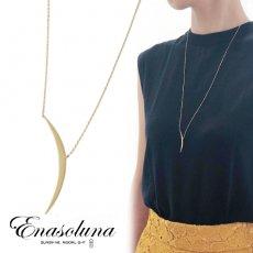 Enasoluna(エナソルーナ)<br>Moon ray necklace 【NK-1450】ネックレス