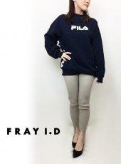 FRAY I.D(フレイアイディー)<br>リブニットレギンス  19春夏【FWGG191341】パンツ19ssfs