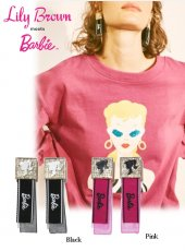 Lily Brown(リリーブラウン)<br>Barbieコラボイヤリング  19春夏【LWGA191324】ピアス・イヤリング