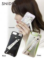 snidel(スナイデル)<br>ポケットスマホケース  iphone7/8対応 19春夏【SWGG191636】iPhone・iPadケース19ssfs