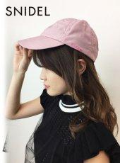 snidel(スナイデル)<br>ロゴキャップ  19春夏【SWGH191642】帽子19ssfs