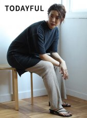 TODAYFUL(トゥデイフル)<br>Cottonlinen Boyfriend Tee  19春夏.【11910638】Tシャツ 19ssfs