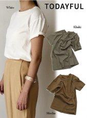 TODAYFUL(トゥデイフル)<br>Vintage Damage Tee  19春夏.予約【11910635】Tシャツ