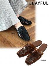 TODAYFUL(トゥデイフル)<br>Clear Mesh Sandals  19春夏.【11911088】サンダル
