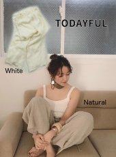TODAYFUL(トゥデイフル)<br>Waistgather Linen Pants  19春夏.【11910731】パンツ