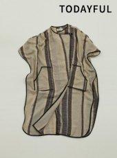 TODAYFUL(トゥデイフル)<br>Jacquard Piping Gown  19春夏.予約【11910007】ジャケット