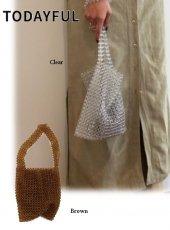 TODAYFUL(トゥデイフル)<br>Beads Tote Bag  19春夏.予約【11911082】ハンド・ショルダーバッグ
