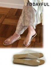 TODAYFUL(トゥデイフル)<br>Clear Flat Sandals  19春夏.【11911065】サンダル