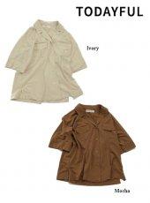 TODAYFUL(トゥデイフル)<br>Vintage Pocket Shirts  19春夏.【11910410】シャツ・ブラウス