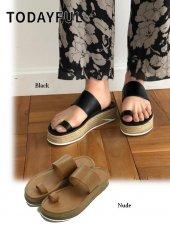 TODAYFUL(トゥデイフル)<br>Jute Tongs Sandals  19春夏.予約【11911079】サンダル