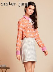 sister jane(シスタージェーン)<br>Demure Tweed Mini Skirt  19春夏.予約【19SJ02SK326】タイトスカート