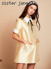 sister jane(シスタージェーン)<br>Lady Lane Coven Dress  19春夏.【19SJ02DR1052】タイトワンピース