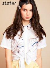 sister jane(シスタージェーン)<br>Frondly Shirt  19春夏.予約【19SJ02BL824】シャツ・ブラウス