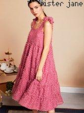 sister jane(シスタージェーン)<br>Likely Lady Midi Dress  19春夏.予約【19SJ02DR1059】マキシワンピース