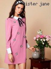sister jane(シスタージェーン)<br>Flowering Rabbit Dress  19春夏.予約【19SJ02DR1066】タイトワンピース
