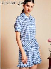sister jane(シスタージェーン)<br>Table Manners Playsuit  19春夏.【19SJ02JS061】オールインワン・コンビネゾン