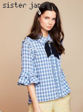 sister jane(シスタージェーン)<br>Table Manners Ruffle Blouse  19春夏.予約【19SJ02BL832】シャツ・ブラウス