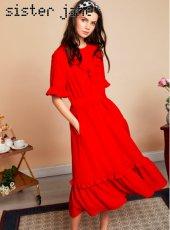 sister jane(シスタージェーン)<br>Rose Garden Midi Dress  19春夏.予約【19SJ02DR1071】フレアワンピース