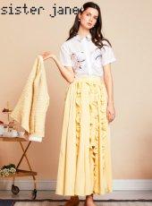 sister jane(シスタージェーン)<br>Apple Butter Midi Skirt  19春夏.【19SJ02SK328】フレアスカート
