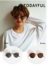 TODAYFUL(トゥデイフル)<br>Flat Color Sunglasses  19春夏【11821087】サングラス・メガネ