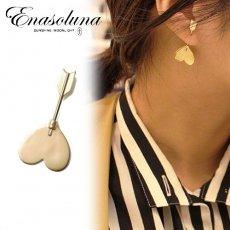 9月初旬予約 Enasoluna(エナソルーナ)<br>Cupid pierced 【11961544】ピアス・イヤリング