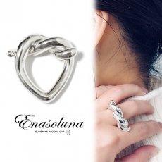 Enasoluna(エナソルーナ)<br>Pretzels ring【11961411】リング