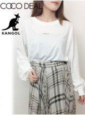 COCODEAL(ココディール)<br>KANGOLコラボ ボリュームスリーブロングTシャツ  19春夏.【79221222】Tシャツ