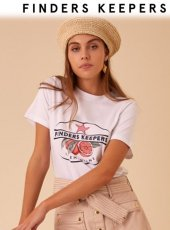 FINDERS KEEPERS(ファインダーズキーパーズ)<br>CLEMENTINE T-SHIRT  19春夏.【19FK0158】Tシャツ