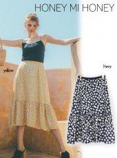 Honey mi Honey (ハニーミーハニー)<br>daisy skirt  19春夏.【19S-VG-24】フレアスカート19ssfs