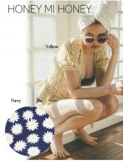 Honey mi Honey (ハニーミーハニー)<br>daisy cache-coeur blouse  19春夏.【19S-VG-25】シャツ・ブラウス19ssfs