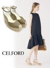 CELFORD(セルフォード)<br>ブレードトリムウェッジサンダル  19春夏.【CWGS192512】サンダル