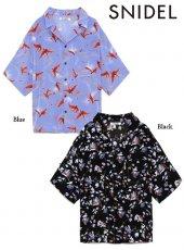 snidel (スナイデル)<br>ビッグアロハシャツ  19春夏.【SWFB192008】シャツ・ブラウス