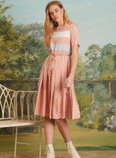 sister jane(シスタージェーン)<br>Starry Sky Midi Dress  19春夏.【19SJ03DR1079】フレアワンピース 19ssfs sale