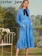 sister jane(シスタージェーン)<br>We The Wild Lace Midi Dress  19春夏.予約【19SJ03DR1081】フレアワンピース