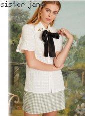 sister jane(シスタージェーン)<br>Passion Pollen Bell Sleeve Shirt  19春夏.予約【19SJ03BL838】シャツ・ブラウス