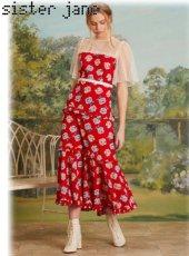 sister jane(シスタージェーン)<br>Blooming Bess Maxi Dress  19春夏.予約【19SJ03DR1083】マキシワンピース