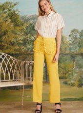 sister jane(シスタージェーン)<br>Citrus Patch Pocket Trousers  19春夏.【19SJ03TR137】パンツ 19ssfs