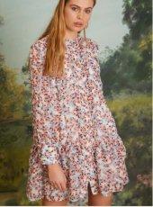 sister jane(シスタージェーン)<br>Blossom Bella Smock Dress  19春夏.【19SJ03DR1087】フレアワンピース 19ssfs sale