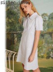 sister jane(シスタージェーン)<br>Under The Sky Mini Dress  19春夏.予約【19SJ03DR1091】フレアワンピース