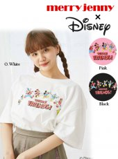 merry jenny (メリージェニー)<br>MICKY FRIENDS T  19春夏.【281922705001】Tシャツ