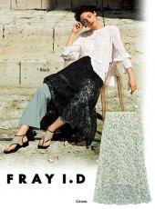 FRAY I.D (フレイアイディー)<br>レースプリントプリーツスカート  19春夏.【FWFS192513】フレアスカート19ssfs