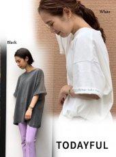 TODAYFUL (トゥデイフル)<br>Cuff Print T-Shirts  19秋冬【11920615】Tシャツ