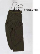 TODAYFUL (トゥデイフル)<br>Vintage Salopette Pants  19秋冬予約【11920706】オールインワン・コンビネゾン