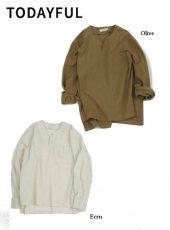 TODAYFUL (トゥデイフル)<br>Keyneck Rough Shirts  19秋冬予約【11920412】シャツ・ブラウス