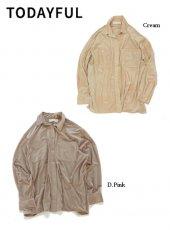 TODAYFUL (トゥデイフル)<br>Sheer Corduroy Shirts  19秋冬予約【11920402】シャツ・ブラウス