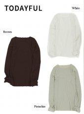 TODAYFUL (トゥデイフル)<br>Drytouch Long T-Shirts  19秋冬予約【11920606】Tシャツ