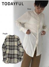 TODAYFUL (トゥデイフル)<br>Softwool Long Shirts  19秋冬予約【11920404】シャツ・ブラウス
